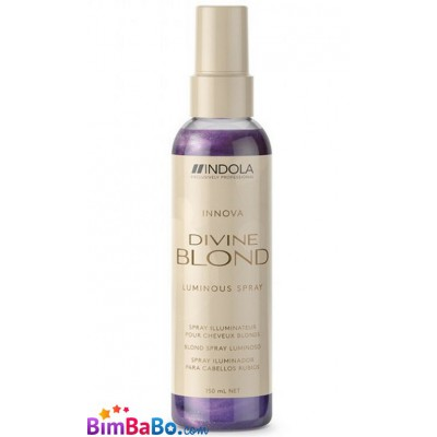 Спрей-кондиционер Indola Innova Divine Blond Luminous...