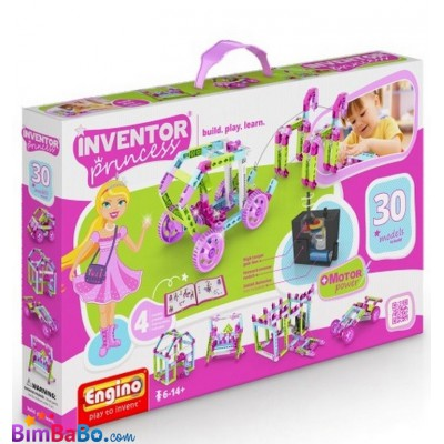 Конструктор Engino серии INVENTOR PRINCESS MOTORIZED 30 в 1 с...