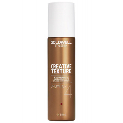 Спрей-воск Goldwell Stylesign Creative Texture Crysta Unlimitor, 150 мл