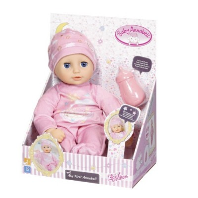 Кукла Zapf Baby Born My First Baby Annabell Моя Малышка, 30 см