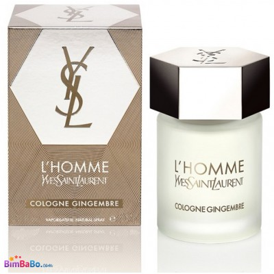 Y.S.Laurent L`Homme Cologne Gingembre 60ml, мужской, оригинал